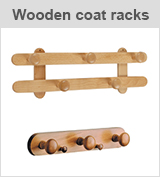 wooden coat racks