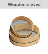 wooden sieves
